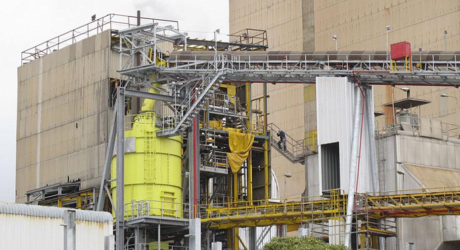 Promecon Arauco Chile, Power plant